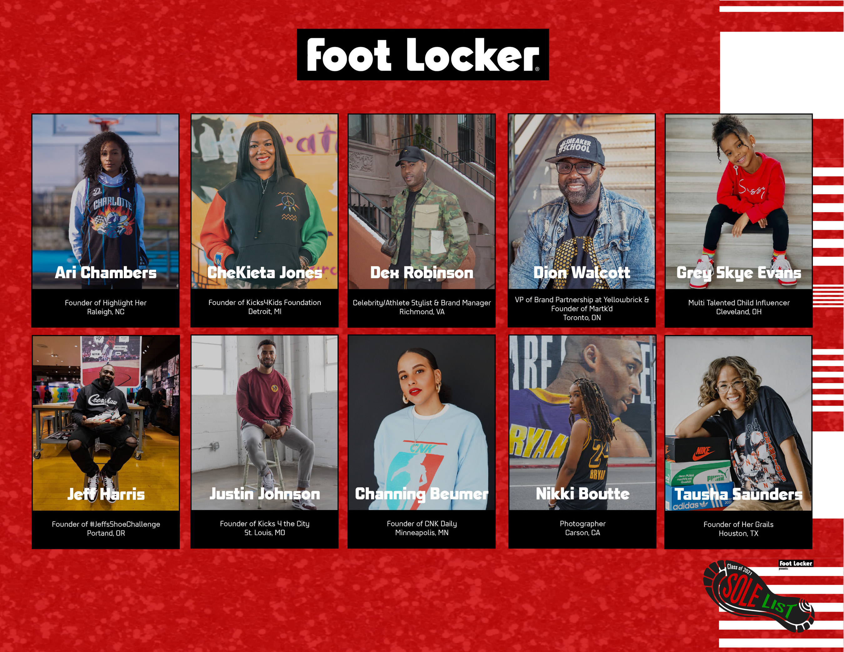 In Celebration of Black History Month Foot Lover Unveils 2021 'Sole List'