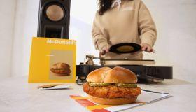 McDonald's Crispy Chicken Sandwich Drop