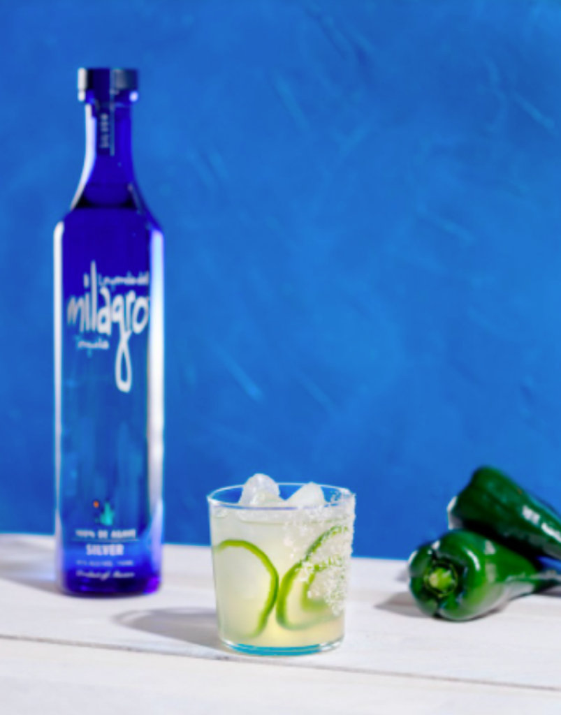 Milagros Tequila for National Margarita Day