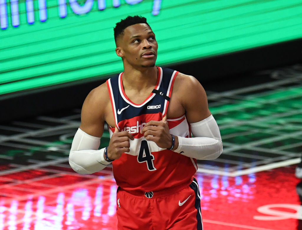 LA Clippers defeat the Washington Wizards 135-116 during a NBA basketball game.