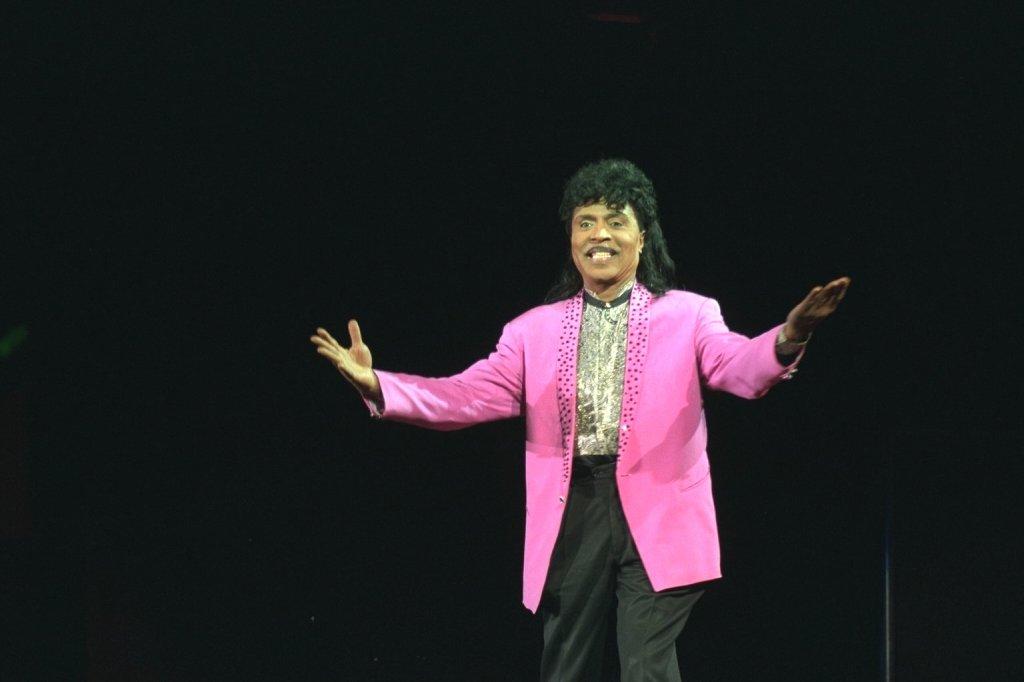 Little Richard In Concert At Wembley Arena, London