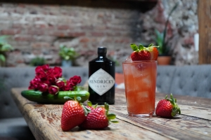 Hendricks Lunar Second Full Moon 2021 Cocktails National Strawberry Day