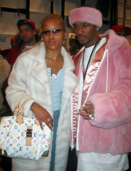 Mercedes-Benz Fashion Week Fall 2003 Collections - Baby Phat - Front Row and Backstage
