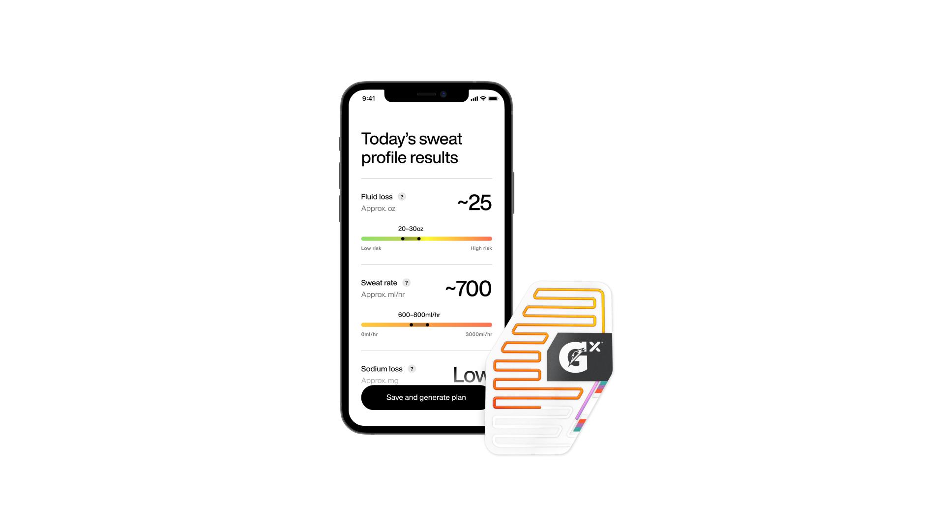 Gatorade Launches Gx Sweat Patch & Gx App