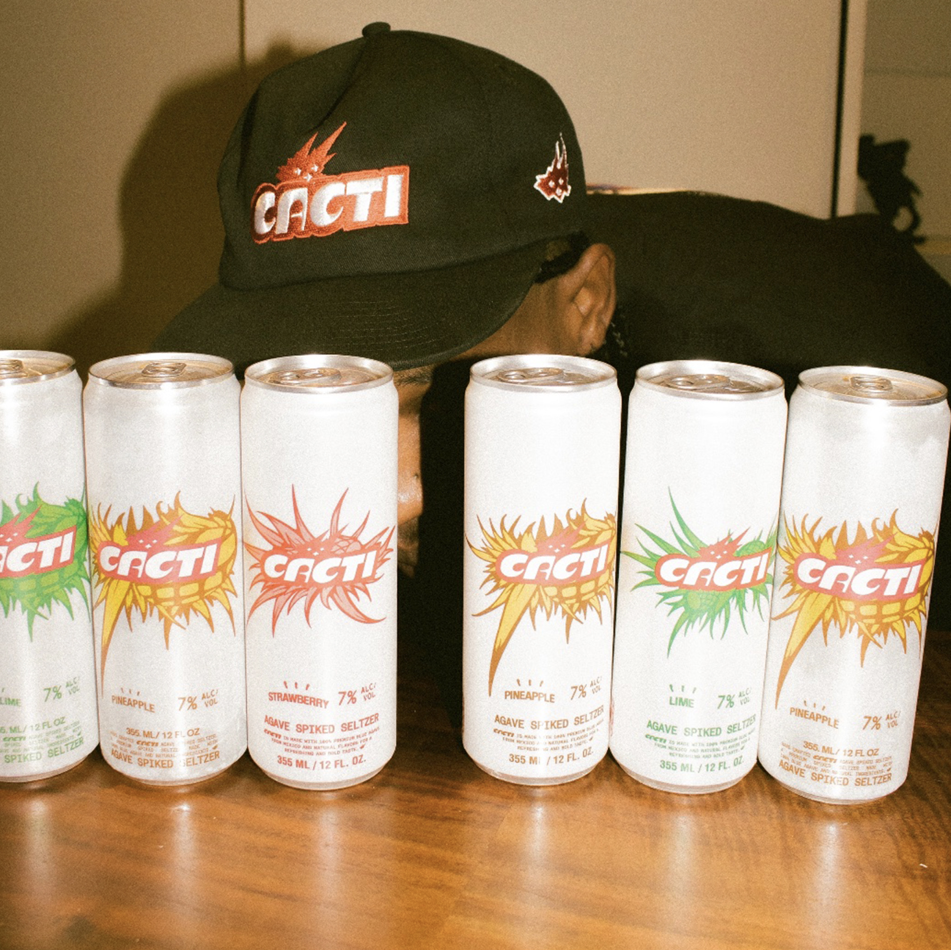 Travis Scott CACTI Spiked Seltzer