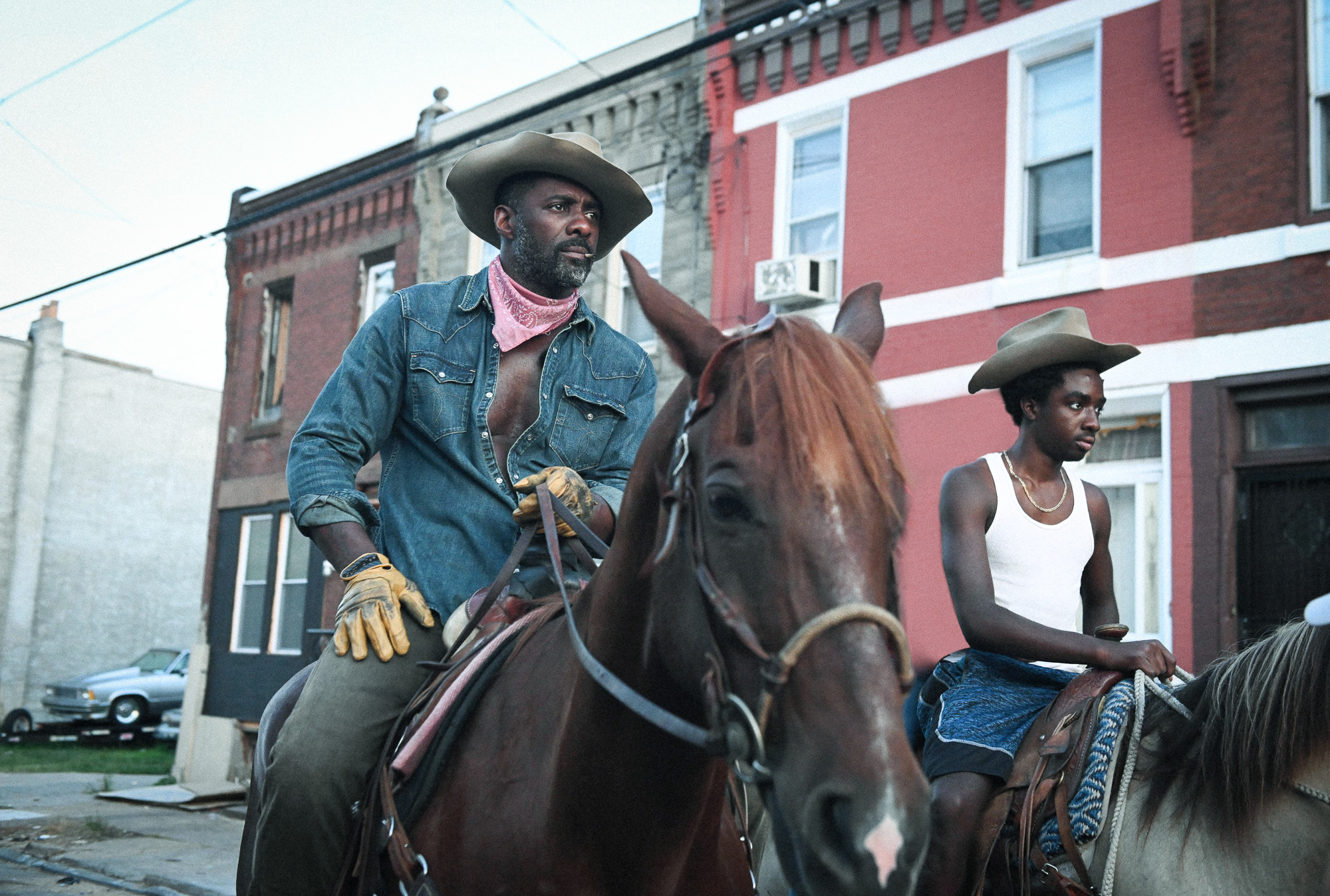 The First Trailer For 'Concrete Cowboy' Starring Idris Elba Has Arrived