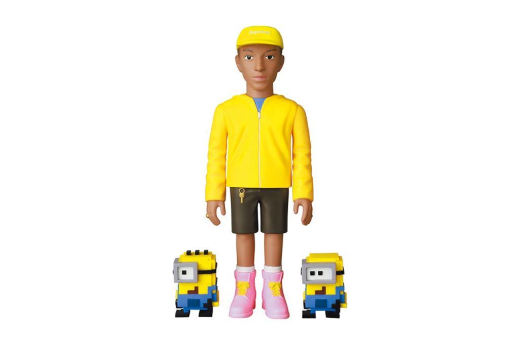 Medicom Toy Pharrell and The Minions