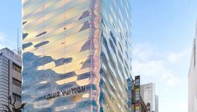 Louis Vuitton Store in Tokyo's Ginza district.
