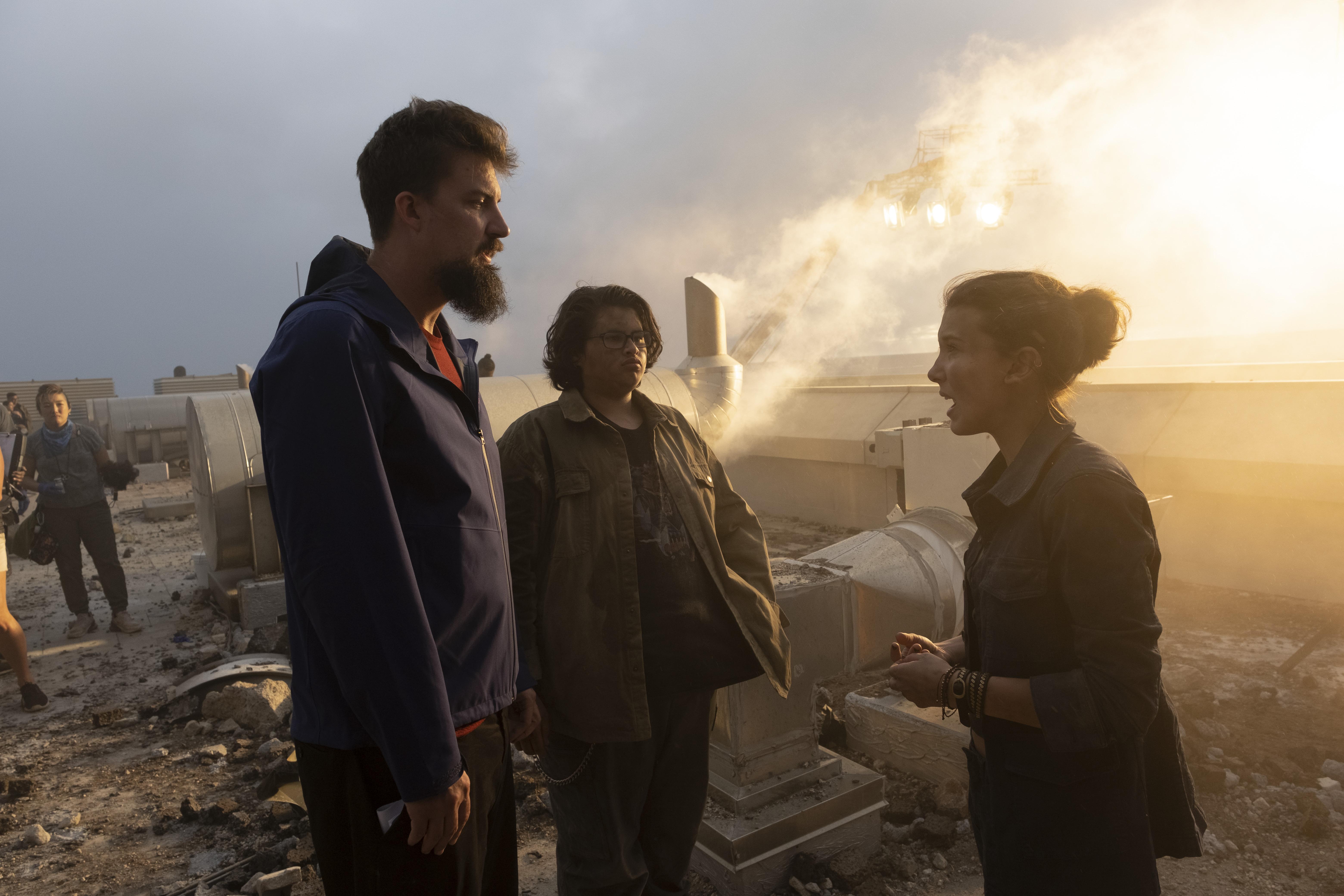 "Millie Bobby Brown & Julian Dennison Talk ""Godzilla vs. Kong' With Cassius"