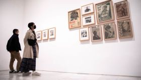 'Women In The Civil War' Exhibition At Reina Sofia Museum In Madrid