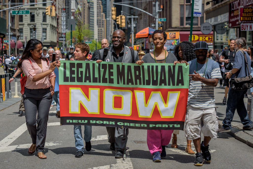 The NYC Cannabis Parade and Rally, New Yorks longest...
