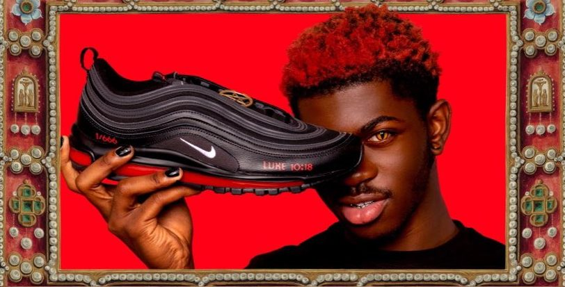 """Christian Twitter Is Not Here For Lil Nas X & Nike's """"Satan Shoes"""""""