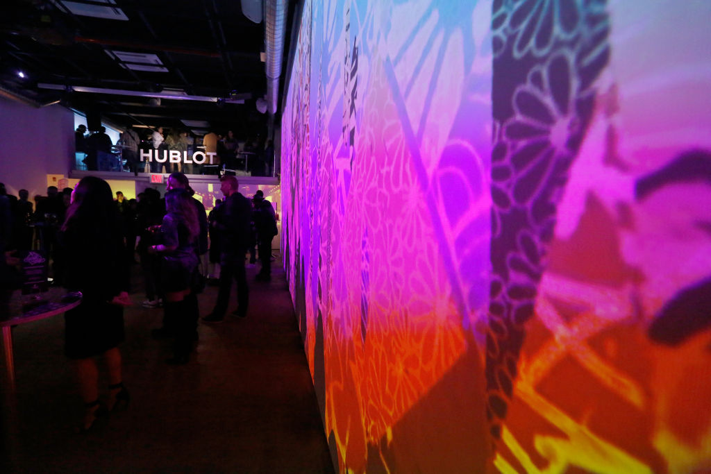 """Hublot Launches """"Fame v Fortune"""" Timepieces With Street Artists Tristan Eaton And Hush"""