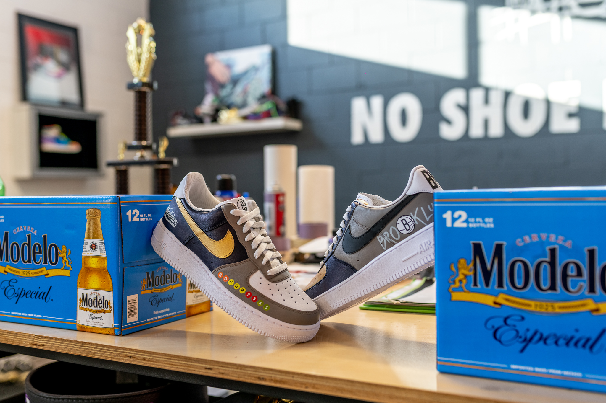 Modelo x Brooklyn Nets Team Up for Shoe Collab