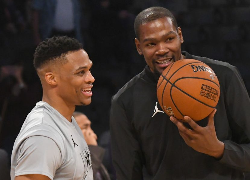 "Twitter Reacts To Kevin Durant ""Forgetting"" Russell Westbrook In Top 5 List"