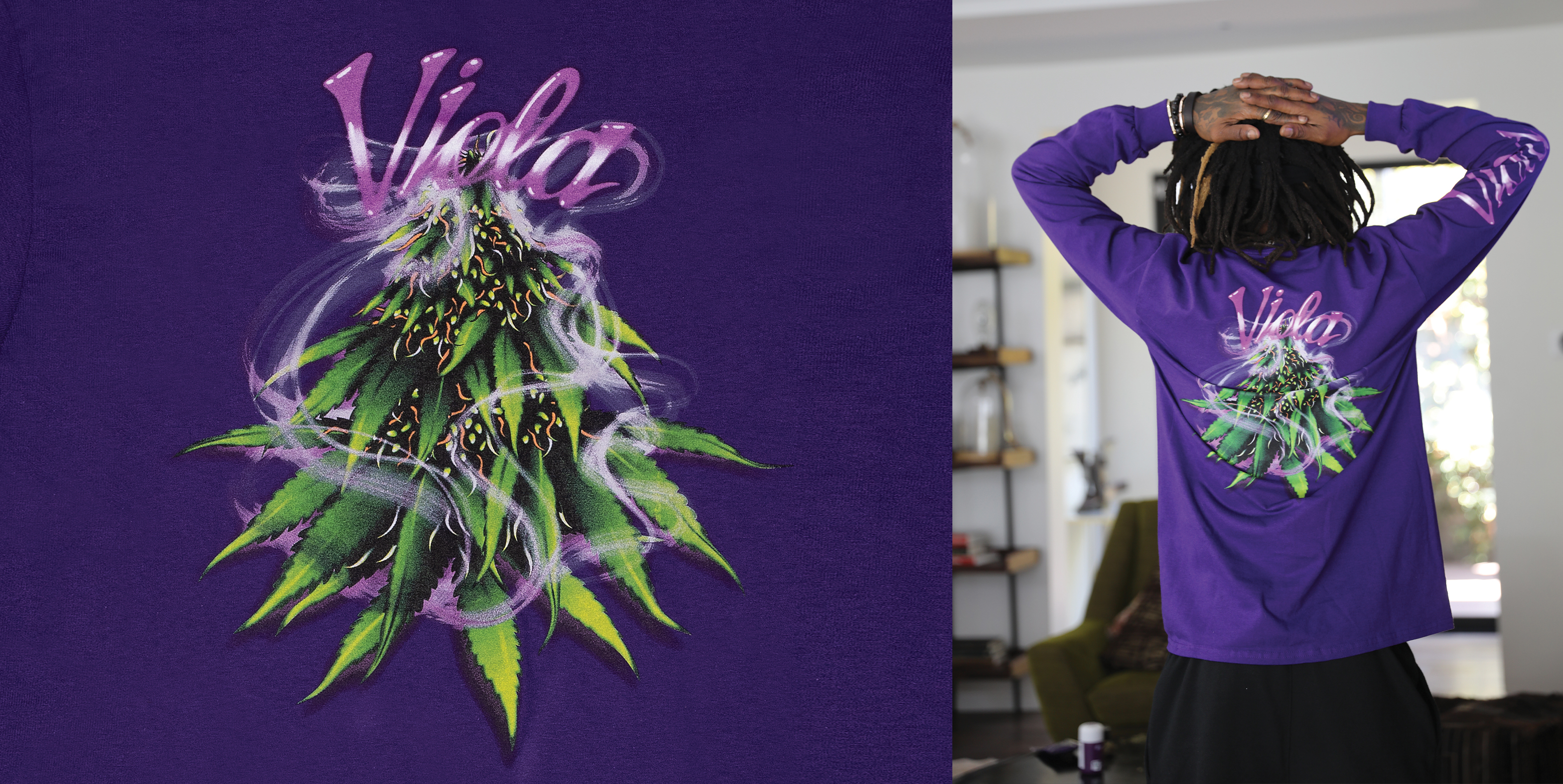JID Models Viola x Anwar Carrot 4/20 Limited-Edition Capsule Collection