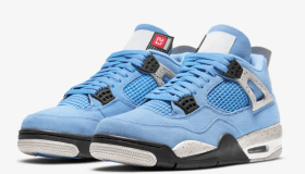 SNKRS Air Jordan 4 University Blue