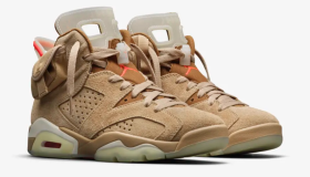 "Travis Scott x Air Jordan 6 ""British Khaki"""