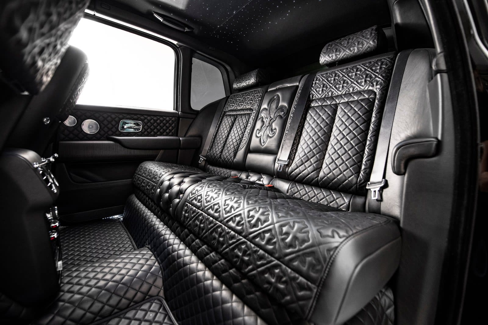Check Out How Chrome Hearts Pimped Out Drake's Rolls-Royce Cullinan