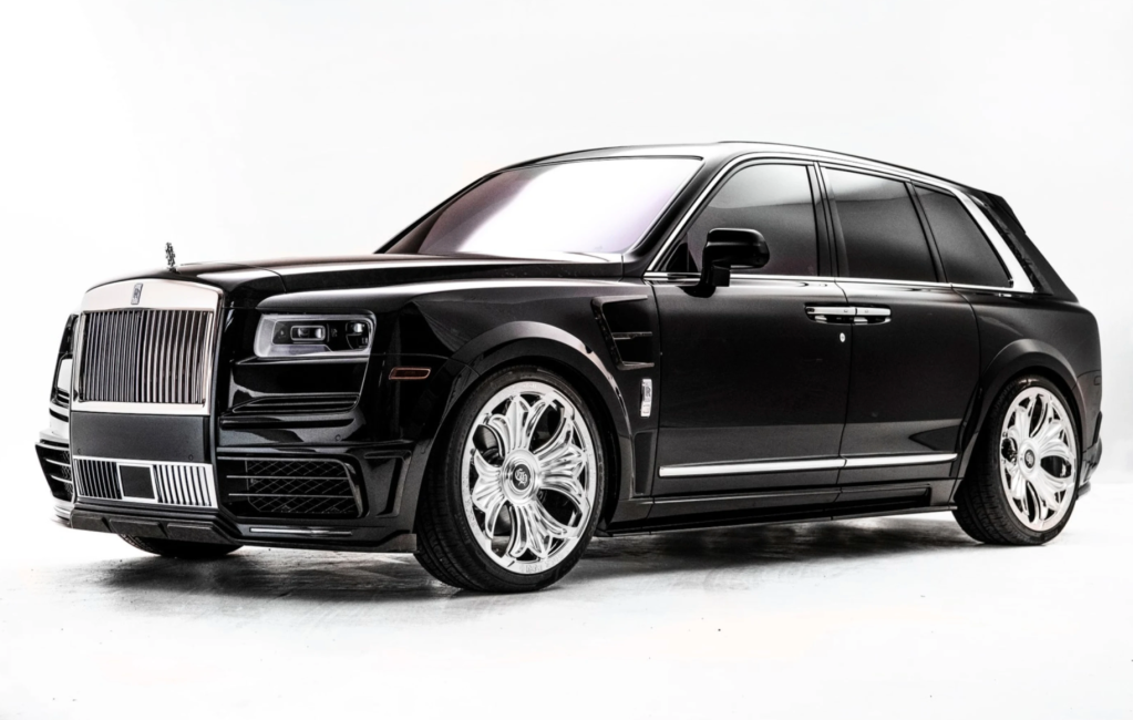 Rolls Royce X Chrome Hearts for Drake