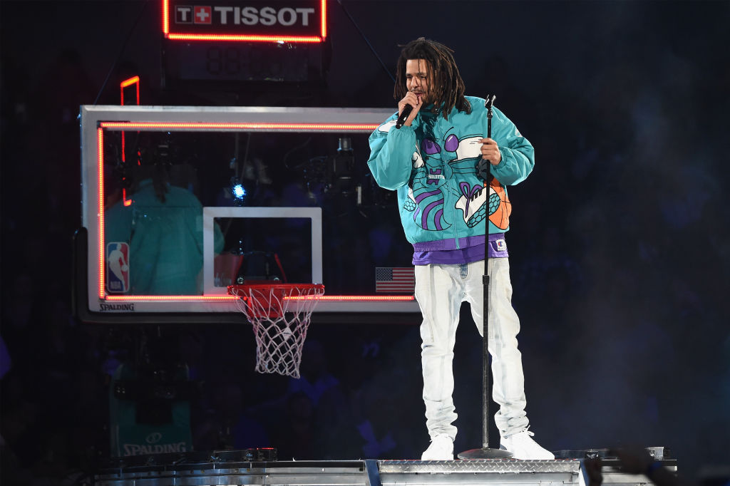 Celebrities Attend The 68th NBA All-Star Game - Inside
