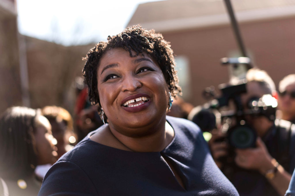 Former Georgia House Democratic Leader and Democratic nominee for Georgia Governor Stacey Abrams