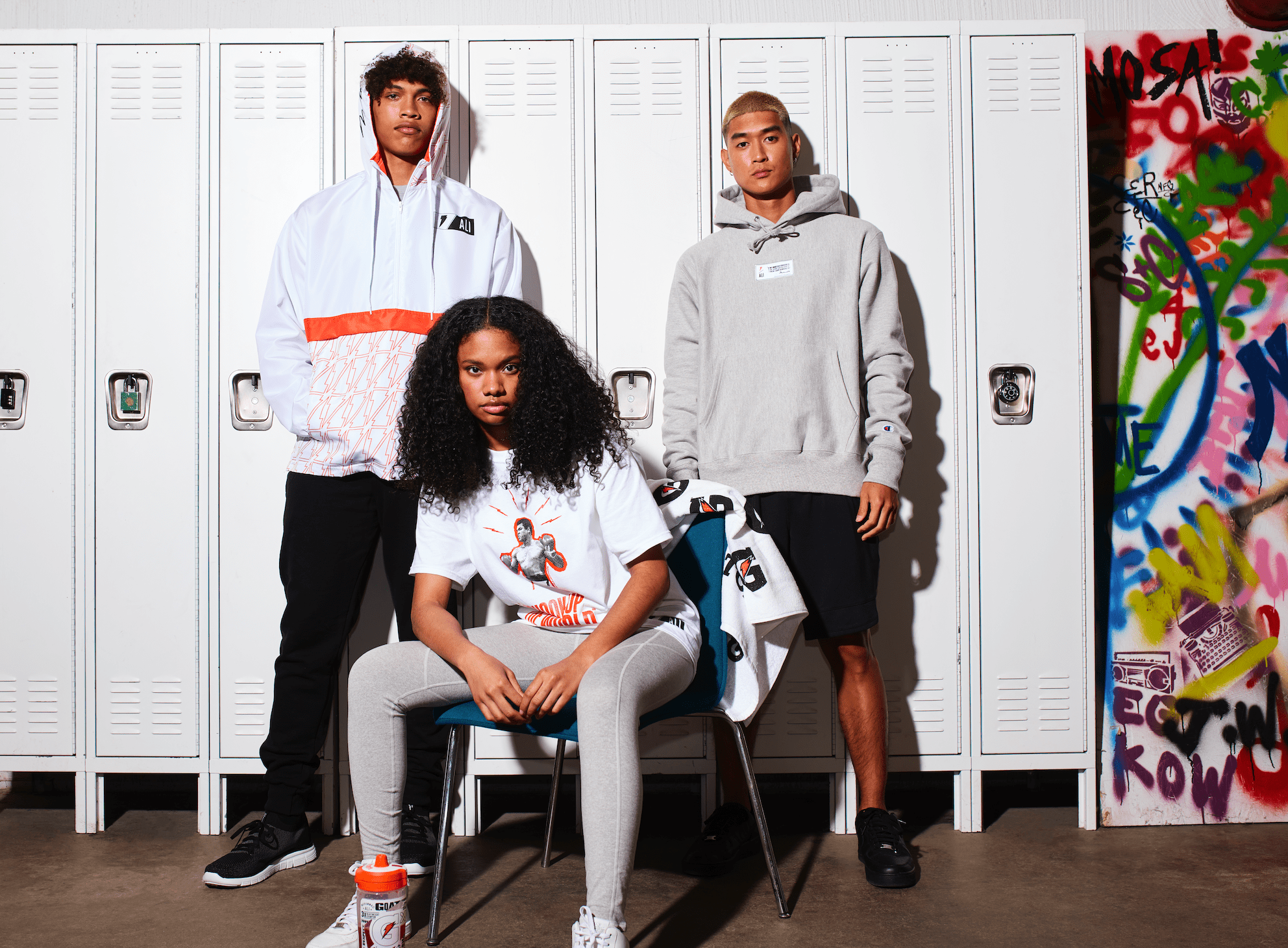 Gatorade Teams Up With Champion For Limited Muhammad Ali Apparel Collection