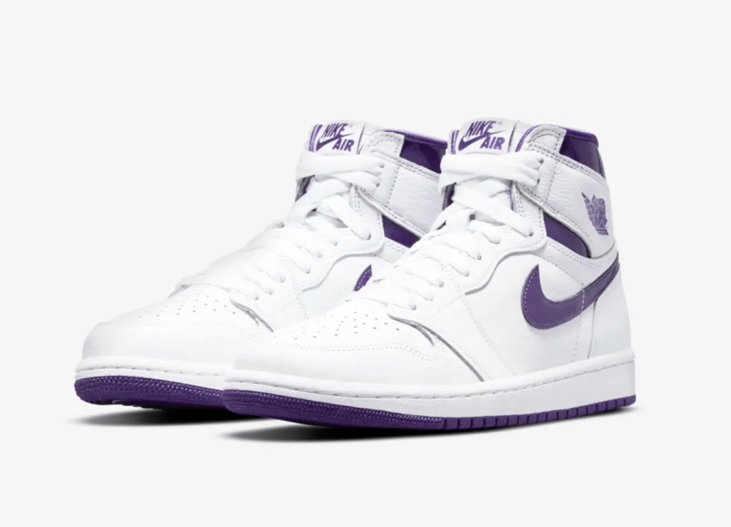 Women's Air Jordan 1 Court Purple