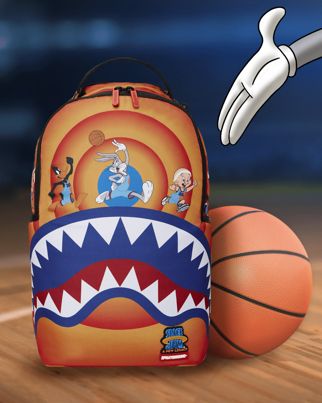 Sprayground Teams Up With 'Space Jam: A New Legacy' For Limited Backpack