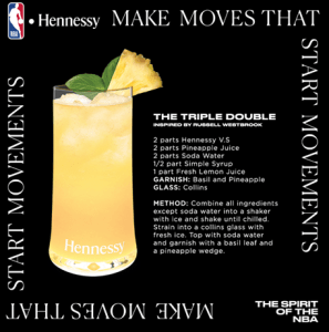 Hennessy x NBA x Make Moves That Start Movements