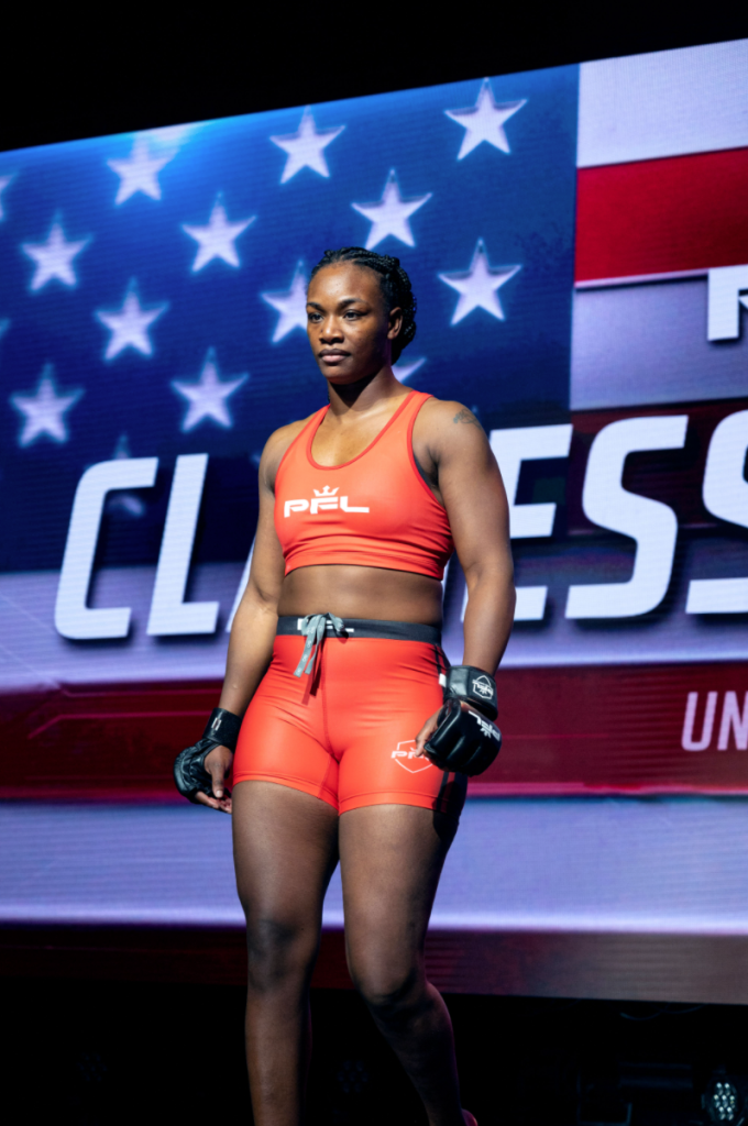 Claressa Shields For Professional Fighters League (PFL)
