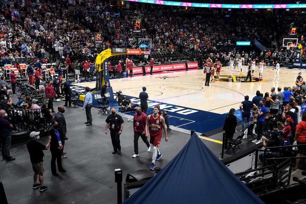 DENVER NUGGETS VS PHOENIX SUNS, NBA PLAYOFFS