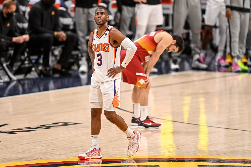 Suns' Chris Paul Placed In NBA's COVID-19 Health & Safety Protocols