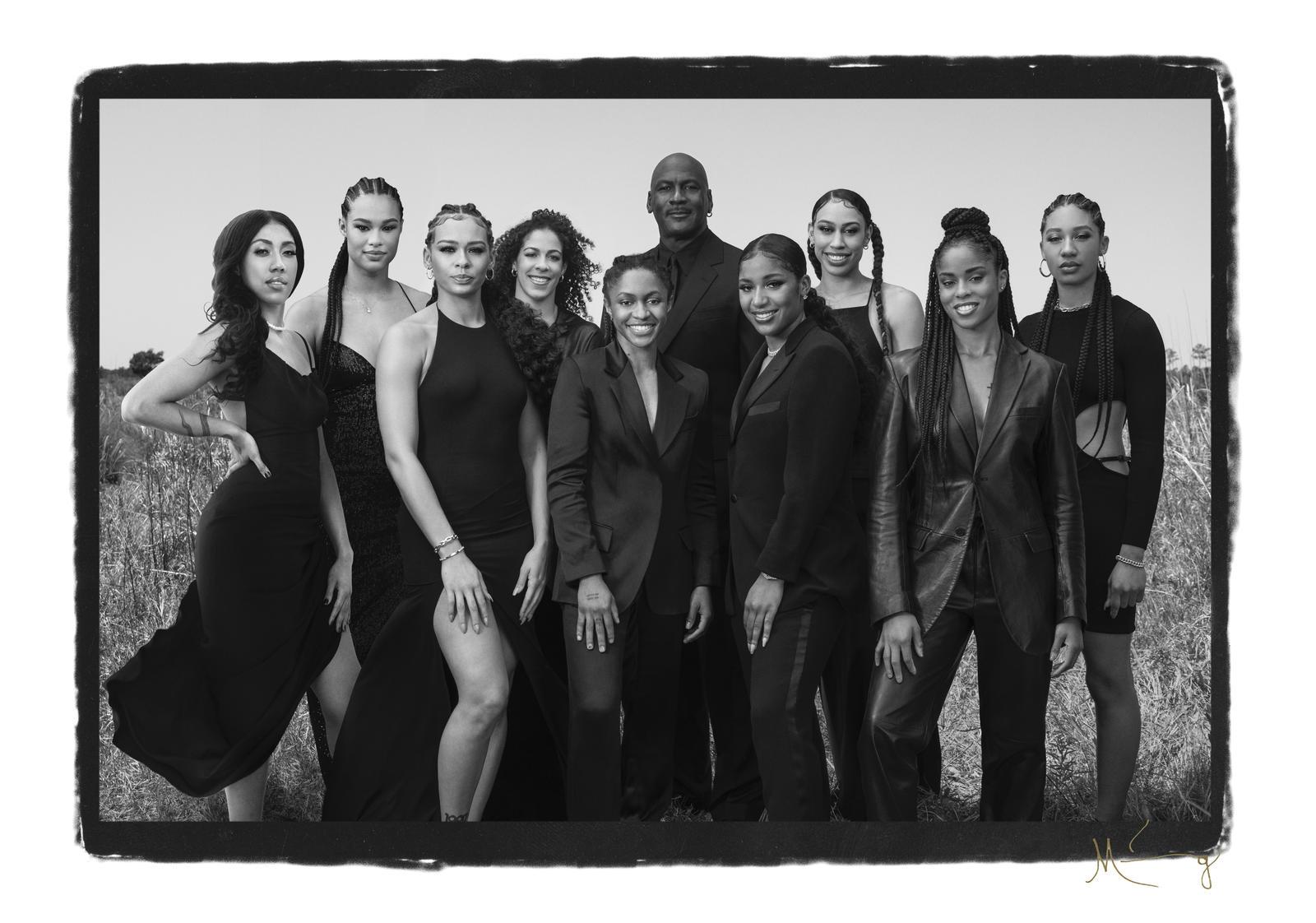 "Michael Jordan & Jordan Brand Announce Their Largest Female Roster Ever: ""The World Needs More Female Voices"""