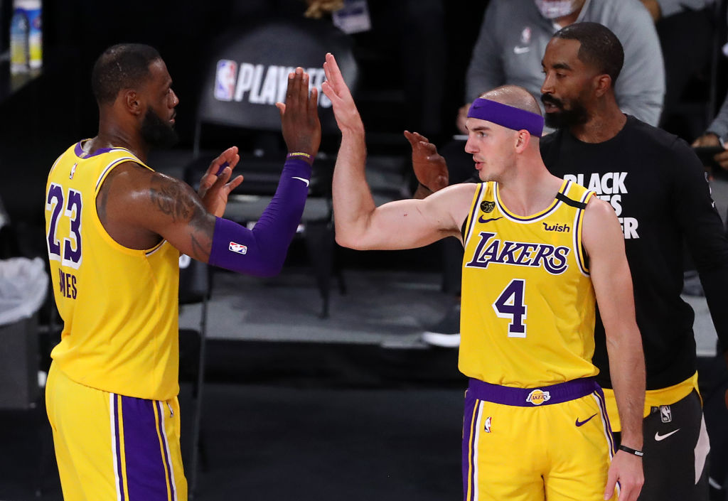Here's How LeBron James Reacted To The News of Alex Caruso's Arrest