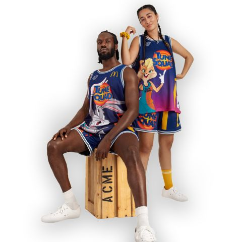 McDonald's Partners With a Diamond Supply Co. For Space jam: A New Legacy Collection