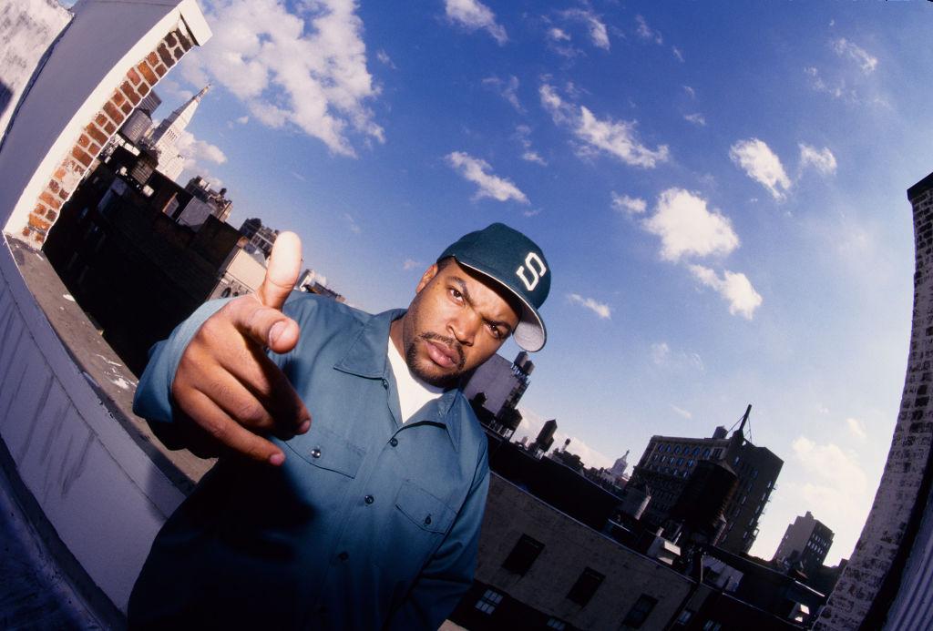 Ice Cube Portrait Shoot