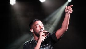 Brent Faiyaz performs a sold out show at Union Stage in Washington, DC.