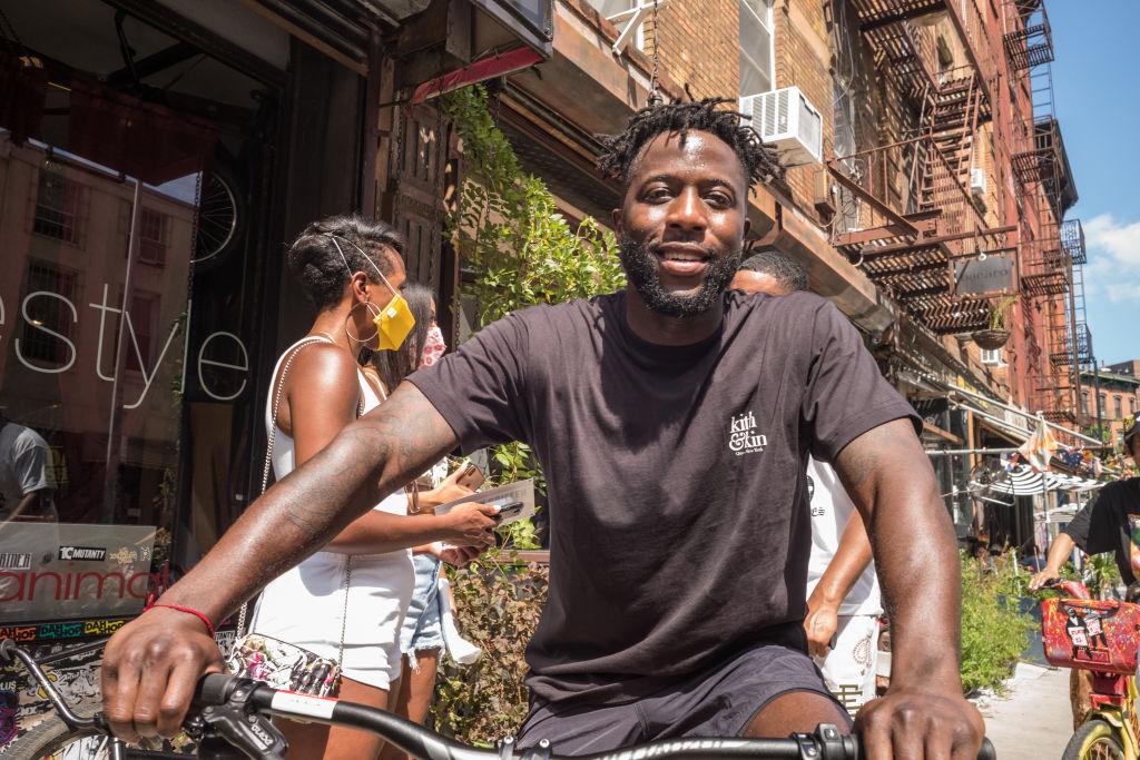 Bike Rides For Black Lives With Nigel Sylvester
