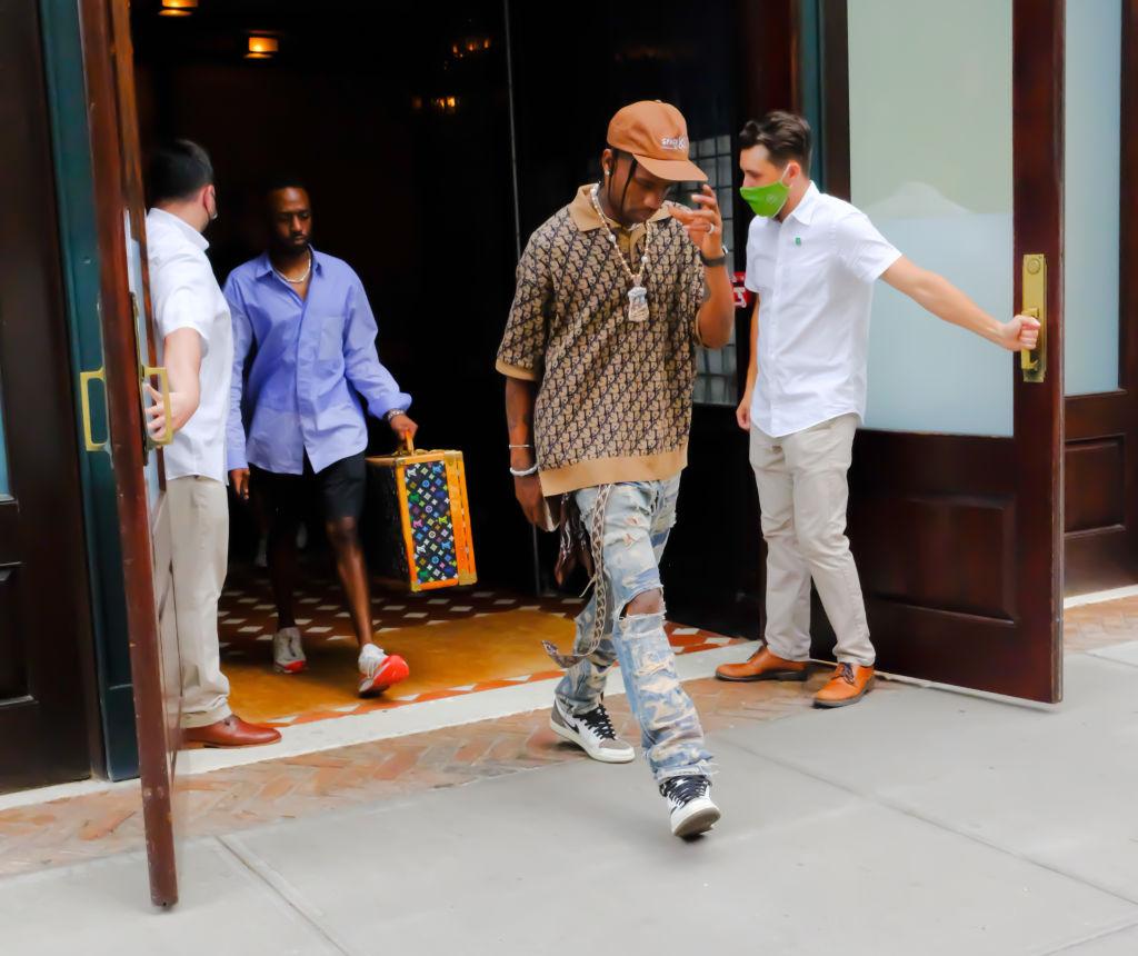 Celebrity Sightings In New York City - July 08, 2021