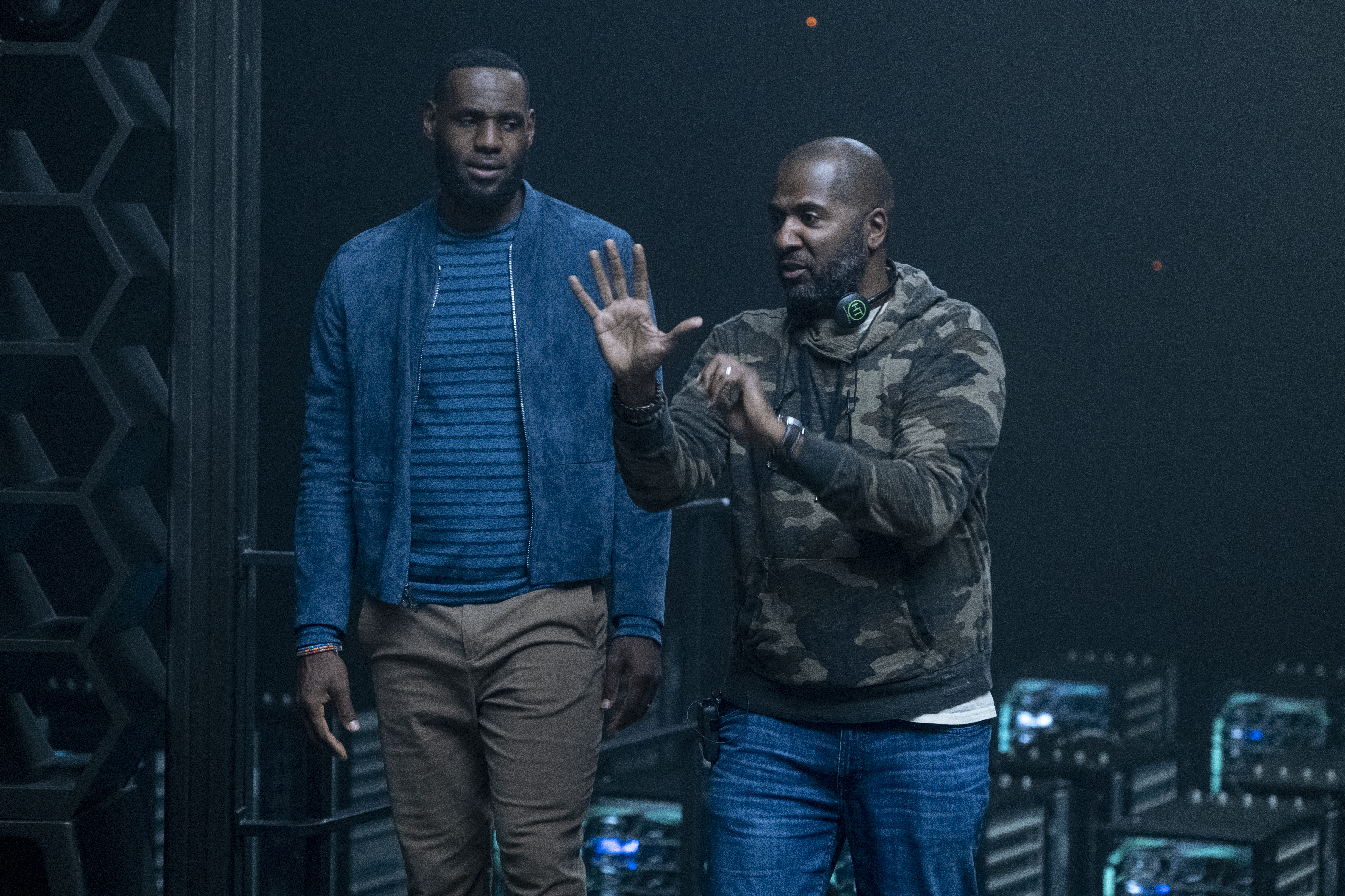 Space Jam: A New Legacy Production Stills