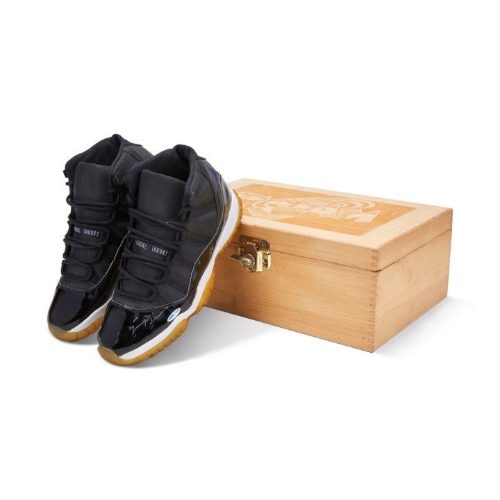 "Air Jordan 11 ""Space Jam"" Auction Sotheby's"