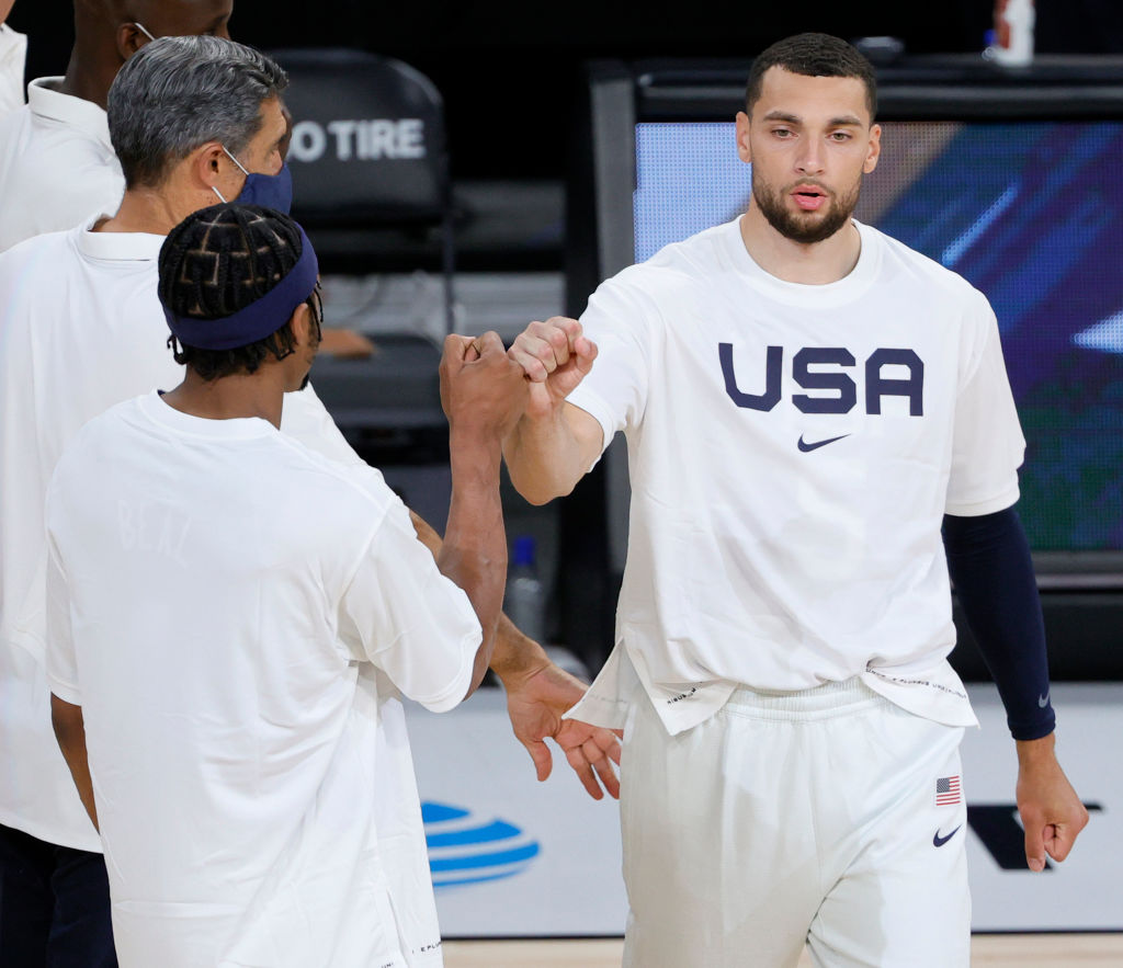 Zach LaVine Placed In Health & Saftey Protocols, Will Not Travel To Tokyo