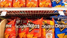 Doritos tortilla chips seen in a Target superstore...