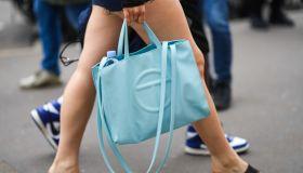 Street Style At Paris Fashion Week - Menswear Spring/Summer 2022