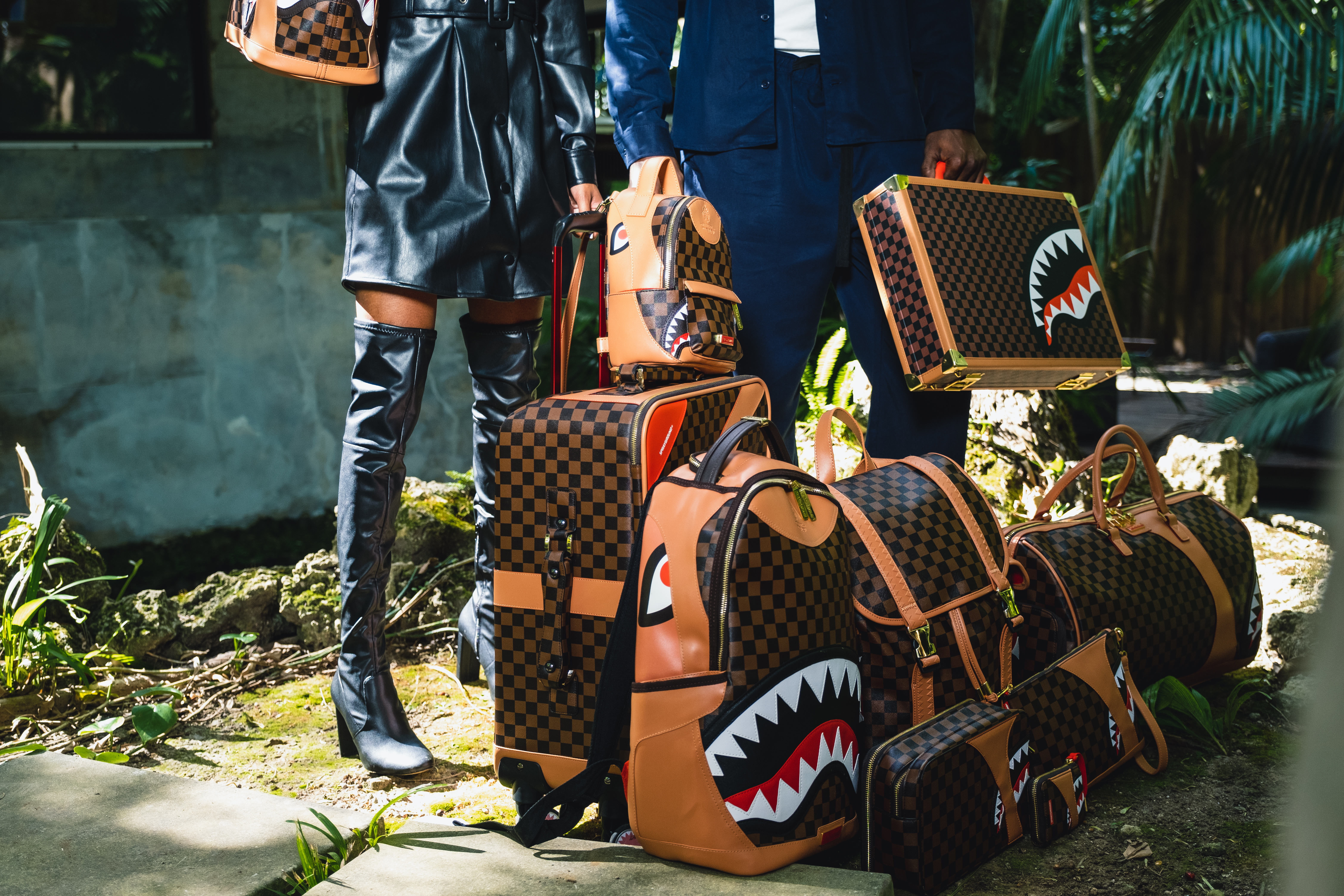 Sprayground Unveils New Luggage Collection, Here Is When You Can Buy It