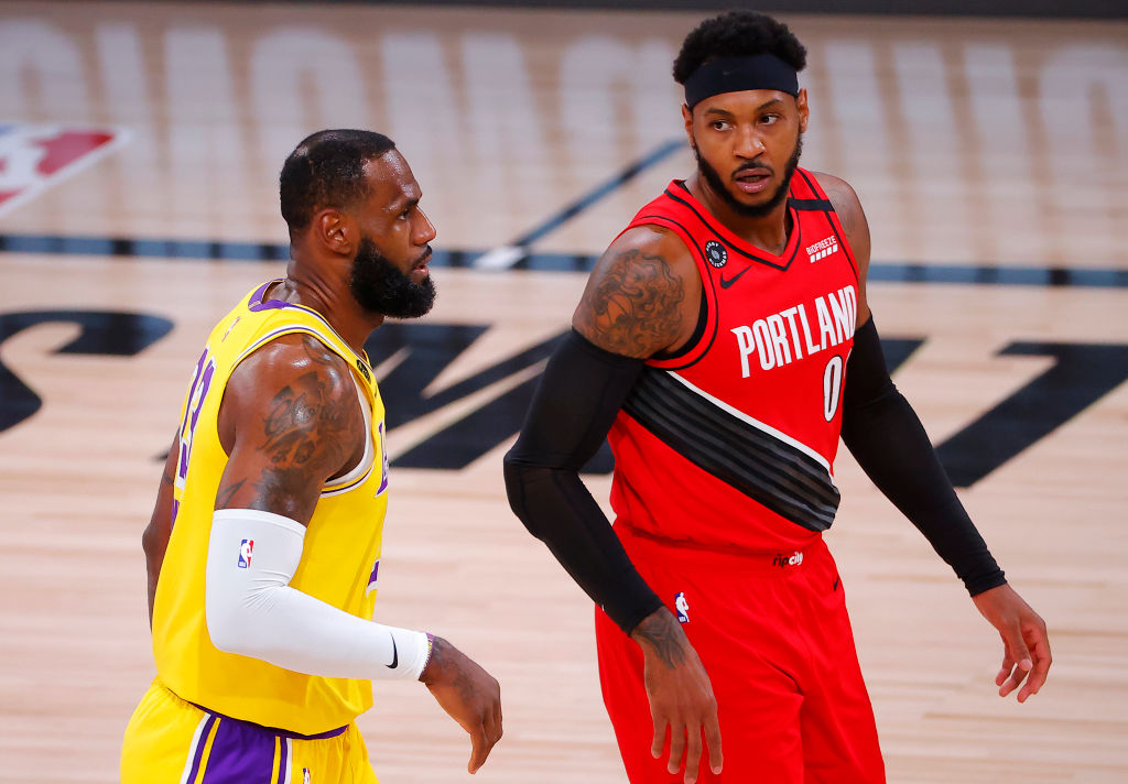 Carmelo Anthony Signs 1-Year Deal To Join Los Angeles Lakers