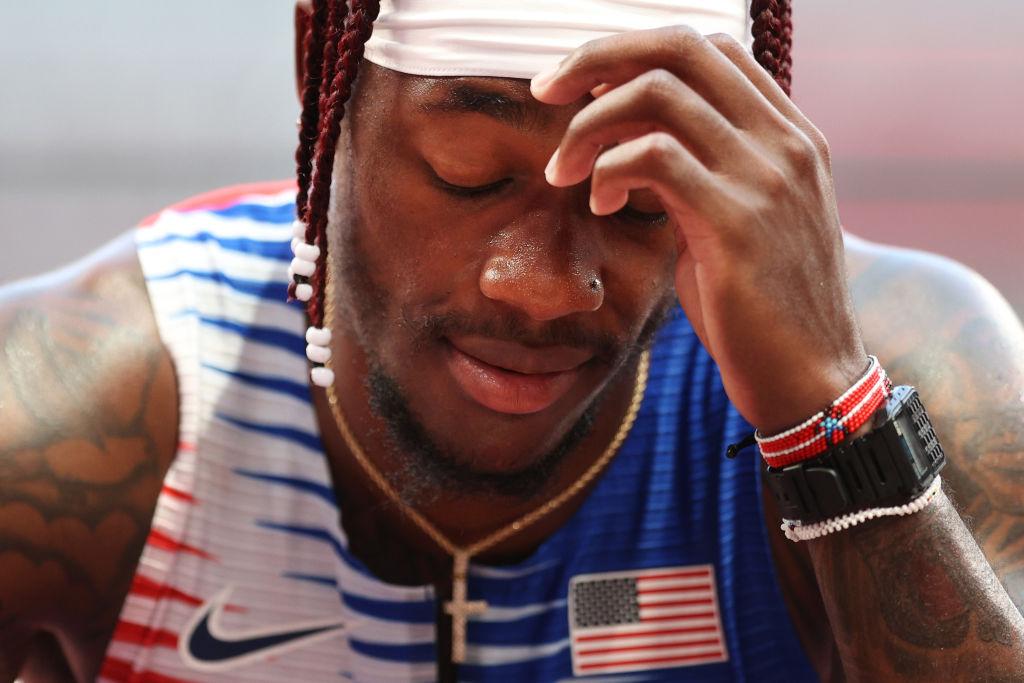 Carl Lewis Rips U.S. Men's Track Team's Relay Performance