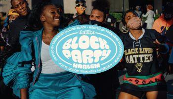 Thrillist Block Party Celebrating Harlem's Local Businesses Partnership With Tren'Ness Woods-Black