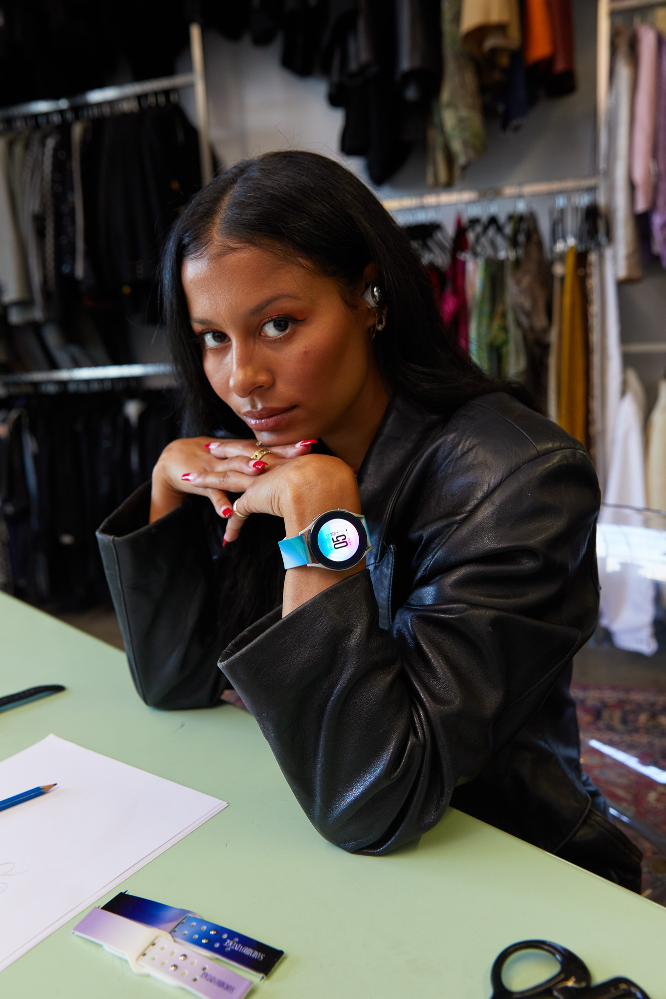 Samsung Galaxy Watch4 x Sami Miró Vintage sustainable watchband collection